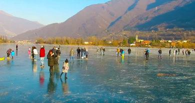 Lago di Endine: il lago ghiacciato più bello d'Italia